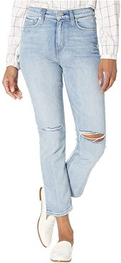 Holly High-Rise Crop Straight Jeans in Dest Washed Out (Dest Washed Out) Women's Jeans