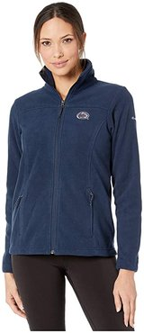 Penn State Nittany Lions CLG Give and Gotm II Full Zip Fleece Jacket (Collegiate Navy) Women's Fleece