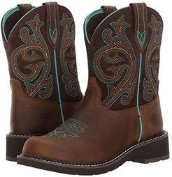 Fatbaby Heritage (Distressed Brown/Fudge) Cowboy Boots