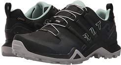 Terrex Swift R2 GTX(r) (Black/Black/Ash Green) Women's Walking Shoes