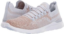 Athletic Propulsion Labs (APL) Techloom Breeze (Ice/Rose Gold/White) Women's Running Shoes