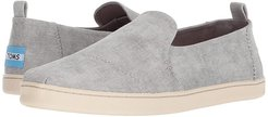 Deconstructed Alpargata (Drizzle Grey Washed Twill) Women's Slip on  Shoes