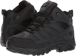 Moab 2 Mid Tactical Waterproof (Black) Men's Lace-up Boots