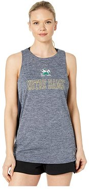 Notre Dame Fighting Irish Marathon III Tank (Navy 2) Women's Clothing