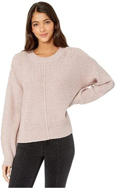 Sorry Not Sorry Sweater (Marled Lavender Stone) Women's Sweater