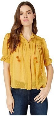 Bishop + Young Sienna Blouse (Goldenrod) Women's Clothing