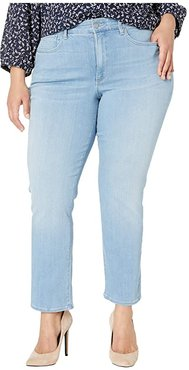 Plus Size Marilyn Ankle Jeans in Tropicale (Tropicale) Women's Jeans