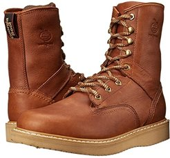 Wedge 8 Lace Up (Barracuda Gold) Men's Work Lace-up Boots