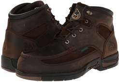 Athens 6 Moc Toe Lace Up (Brown) Men's Work Lace-up Boots