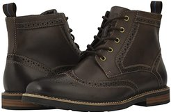 Odell Wingtip Boot with KORE Walking Comfort Technology (Brown CH) Men's Lace-up Boots