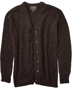 Cedar Island Cardigan (Midnight Heather) Women's Clothing
