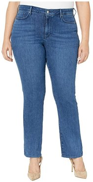 Plus Size Marilyn Straight Jeans in Habana (Habana) Women's Jeans