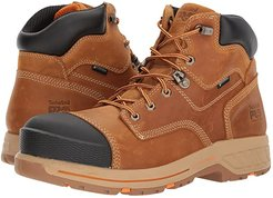 Helix 6 HD Composite Safety Toe Waterproof BR (Distressed Wheat Full Grain Leather) Men's Work Lace-up Boots