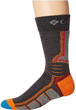 Omni-Heat Hike Crew 1-Pack (Charcoal) Crew Cut Socks Shoes
