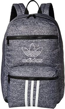 Originals National 3-Stripes Backpack (Onix Jersey/Black) Backpack Bags