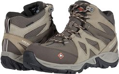 Siren Mid Waterproof Alloy Toe (Brindle/Boulder) Women's Shoes