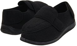 Physician (Charcoal Wool) Men's Slippers