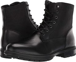 Self Made Chuck (Black Leather) Men's Lace-up Boots