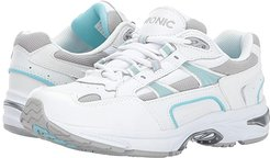 Walker (White/Blue) Women's Lace up casual Shoes