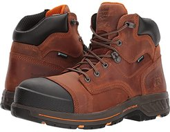 Helix HD 6 Soft Toe Waterproof (Distressed Red Brown) Men's Work Lace-up Boots