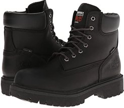 Direct Attach 6 Soft Toe (After Dark Full-Grain Leather) Men's Work Lace-up Boots