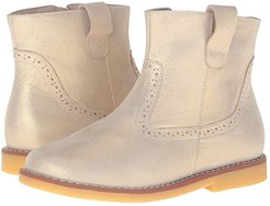 Madison Ankle Boot (Toddler/Little Kid/Big Kid) (Gold 1) Girls Shoes