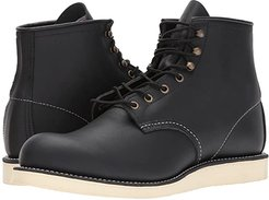 6 Rover Round Toe (Black Harness) Men's Lace-up Boots