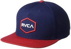 Commonwealth Snapback (Navy/Red 2) Baseball Caps