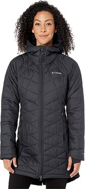 Heavenlytm Long Hybrid Jacket (Black) Women's Coat