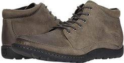 Nigel Boot (Grey Full Grain Leather) Men's Lace-up Boots