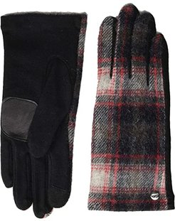 Heritage Plaid Gloves - Water Replellent Palm (Black) Extreme Cold Weather Gloves