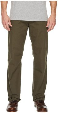 Relaxed Fit Carpenter Duck Jean (Rinsed Moss Green) Men's Jeans