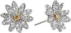 Eternal Flower Stud Pierced Earrings (Light Multi) Earring