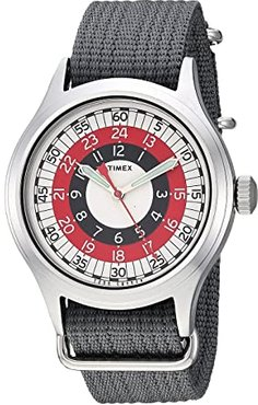 Todd Snyder Red Mod 40mm (Grey/Red/White) Watches