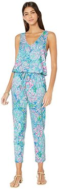 Paulina Jumpsuit (Multi In Full Bloom) Women's Jumpsuit & Rompers One Piece