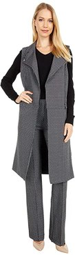Tala Sleeveless Trench (Nordic Houndstooth) Women's Clothing