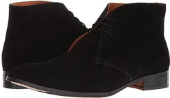 Corazon Chukka Boot (Black Calfskin Suede) Men's Lace-up Boots
