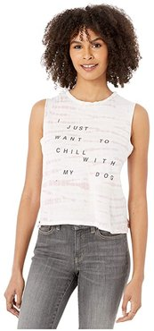 Lili Chill with My Dog Tank (Shell Alligator) Women's Clothing