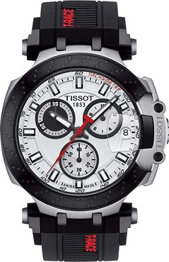 T-Sport T-Race Chronograph - T1154172701100 (White) Watches