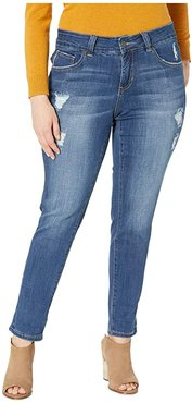 Plus Size Carter Girlfriend Jeans (Thorne Blue) Women's Jeans