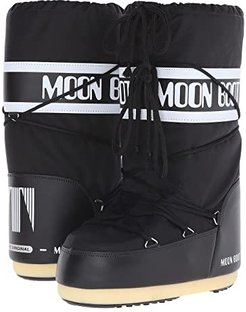 Moon Boot(r) Nylon (Black) Cold Weather Boots