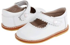 Mary Jane (Toddler) (White) Girls Shoes