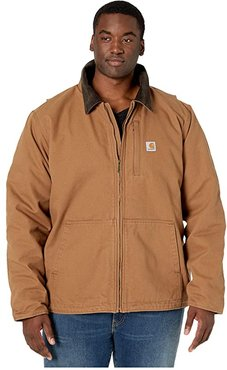 Big Tall Full Swing Armstrong Jacket (Carhartt Brown) Men's Clothing
