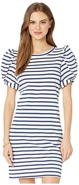 Anabella Dress (High Tide Navy Perfect Pair Stripe) Women's Dress