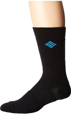 Hiking Medium Weight Crew (Black) Crew Cut Socks Shoes
