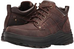 Relaxed Fit Holdren - Lender (Dark Brown Leather) Men's Lace-up Boots