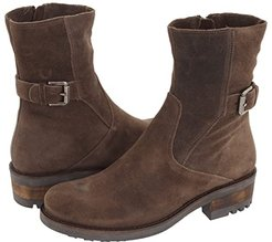 Camilla (Stone Oiled Suede) Women's Zip Boots