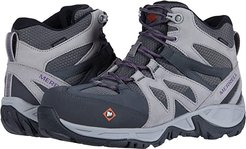 Siren Mid Waterproof Alloy Toe (Charcoal/Paloma) Women's Shoes