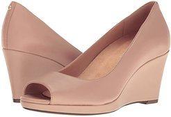 Olivia (Tender Taupe Leather) Women's Wedge Shoes