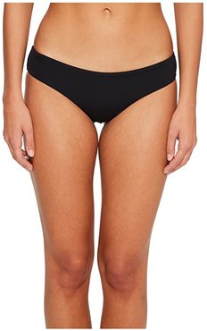 Sol Searcher Hawaii Lo Bikini Bottom (Black Pebble) Women's Swimwear